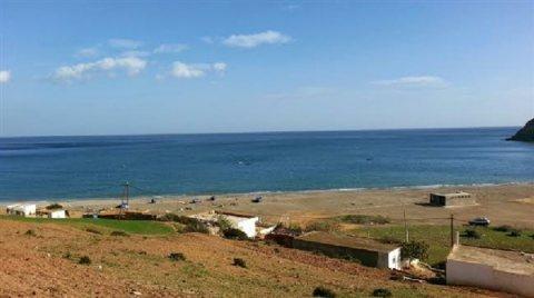 ارض للبيع 14 هكتار محفظة  على البحر  شمال المغرب
