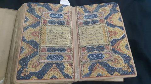 مصحف نادر جدا  للخطاط الشهير محمود جلال الدين