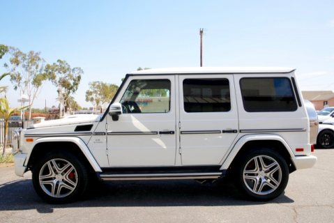 Clean 2015 Mercedes Benz G63 AMG