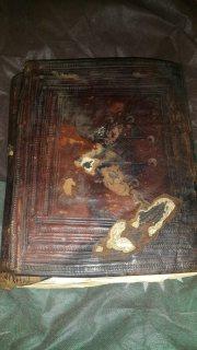 مجلد مخطوط قديم