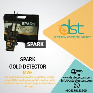 Spark for metal and gold detectors
