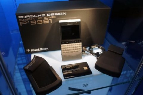 Blackberry Porsche Design P9981 (Gold,Silver & Black ):