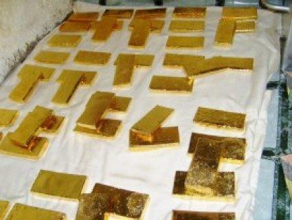 الذهب عيار 22 + / 22،000 € للكيلوغرام الواحد