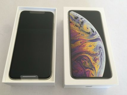 NEW SEALED Apple iPhone XS Max - 512GB - Silver (FACTORY WORLDWIDE UNLOCKED)