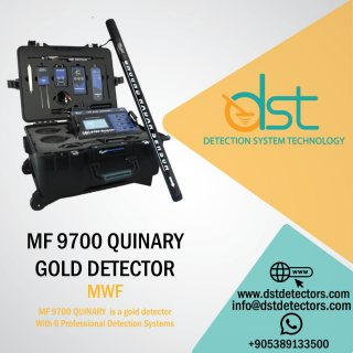 Gold Metal and Water Detector MF 9700 QUINARY With 6 Detection Systems