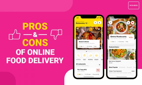 PROS & CONS OF ONLINE FOOD DELIVERY SERVICES