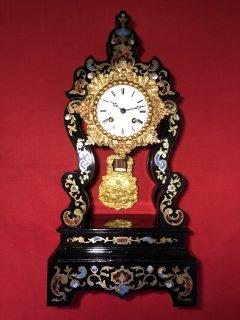 ساعة فرنسية انتيك (نابليون 3 ) سنة الصنع 1860