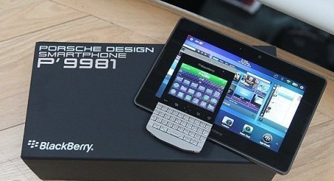 Blackberry Porsche Silver 9982 Design