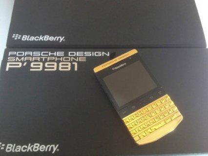 New Blackberry Porsche P9981 & Blackberry Q10 with Special Pin