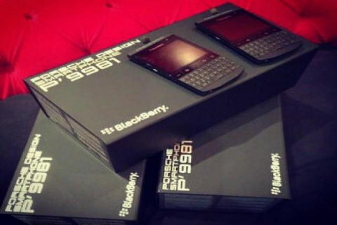 WTS:-Blackberry Porsche design p9981 $450usd