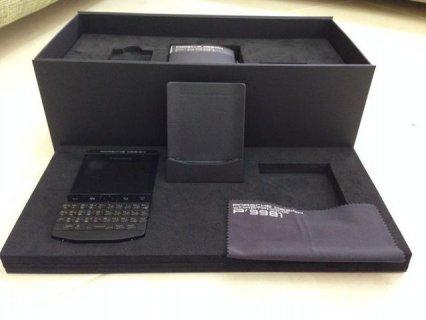 بلاك بيري بورش ديزاين P9981 (أسود) مع دبابيس الخاصة