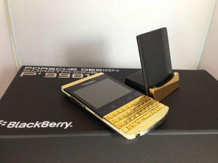 الجديد بلاك بيري بورش P9981 24CT الذهب / ابل اي فون 5S  الذه