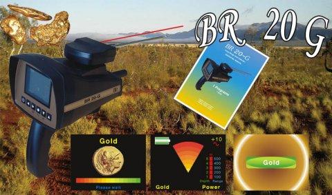 شركة مملكة الأكتشاف تقدم جهاز كشف الذهب BR 20 G