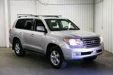 2011 Toyota Land Cruiser Silver Exterior