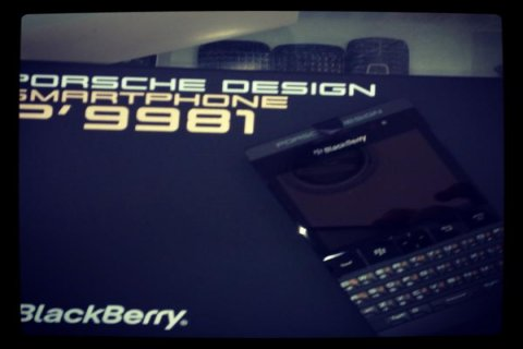 For sell Unlocked Blackberry P\'9981 Silver-Black