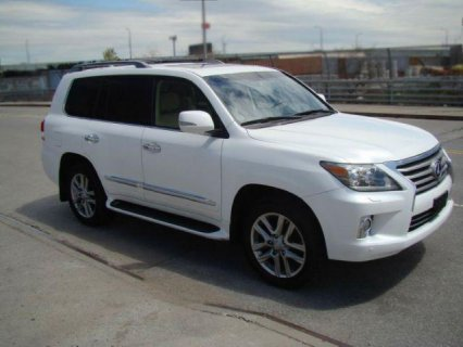 2013 Lexus Lx 570 (GCC SPECS) ON SALES