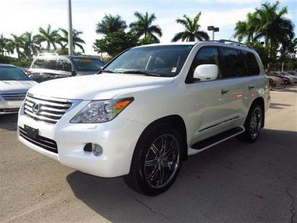 2011 LEXUS LX 570 SUV FOR SALE