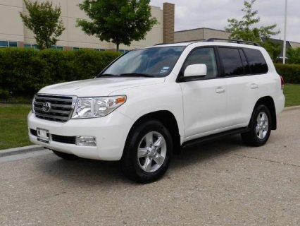 2010 Toyota Land Cruiser Full Options, Accident Free, Very Clean