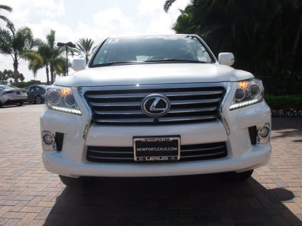 For sale: Used 2013 Lexus Lx570 Perfect Condition