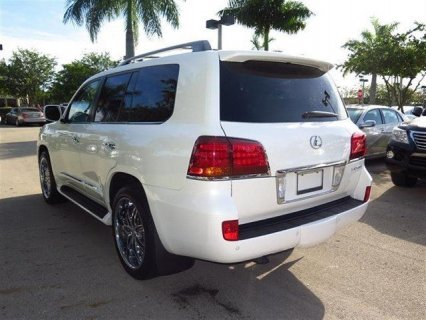 صور LEXUS LX 570 2011 MODEL, FULL AUTOMATIC 2
