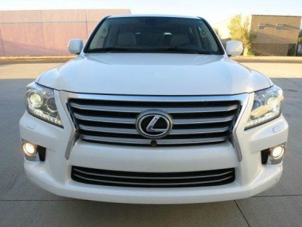 OFFER SALE: 2013 LEXUS LX 570 V8.