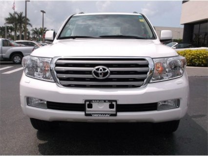 TOYOTA LAND CRUISER 2011 GXR V8