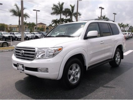 TOYOTA LAND CRUISER 2011 - NO ACCIDENT