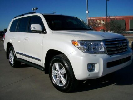 صور $MY 2013 TOYOTA LAND-CRUISER, SUV FOR SALE  3