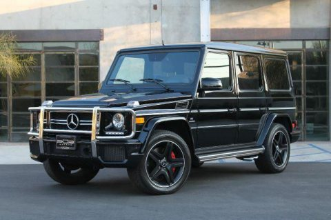Neatly 2014 Mercedes-Benz G63 AMG