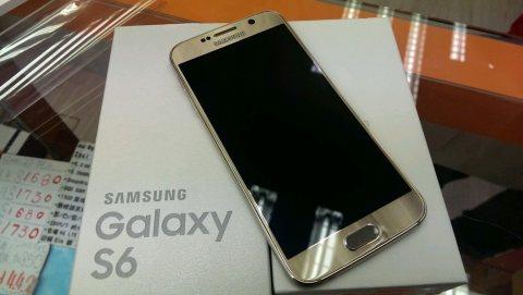 Samsung Galaxy S6 Gold Brand New Original Whatsapp +254700928032