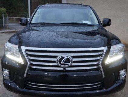 2013 LEXUS LX 570 - BLACK COLOR SUV