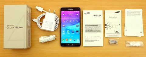 selling Samsung galaxy note4 new original complete accessories