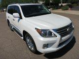 شراء 2013 ليكسوس LX 570 الأبيض