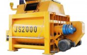 خلاط الخرسانة JS2000,ملموسة خلاط 120 م3/ساعة