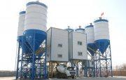 مصنع خلط الخرسانة 120 م3/ساعة,محطة خلط الخرسانة HZS120