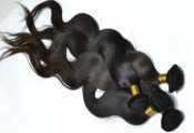 "New 12""-24\"" Deep Wave Virgin Remy Brazilian Human Hair Weft Exte"