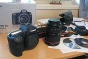 للبيع: كانون EOS 5D مارك الثاني 21MP DSLR كاميرا مع 24-105mm هو